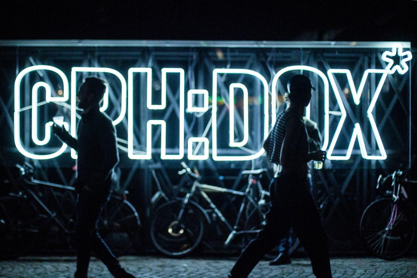 CPH:DOX neon sign